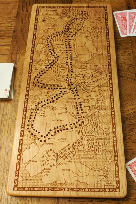 Game of Thrones - Westeros Cribbage Board