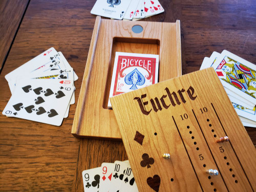 Deluxe / Travel Euchre Score Board