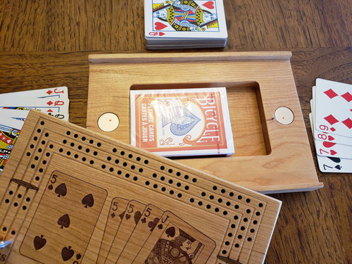 Travel Cribbage Board with Perfect 29