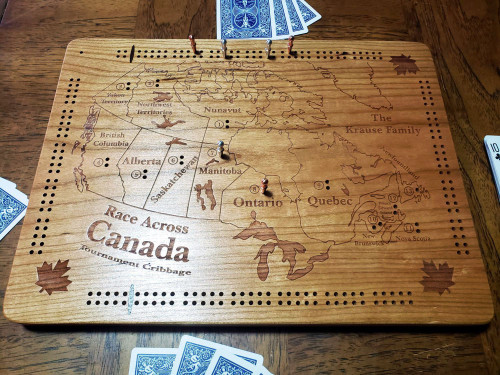 Race Across Canada Tournament Cribbage