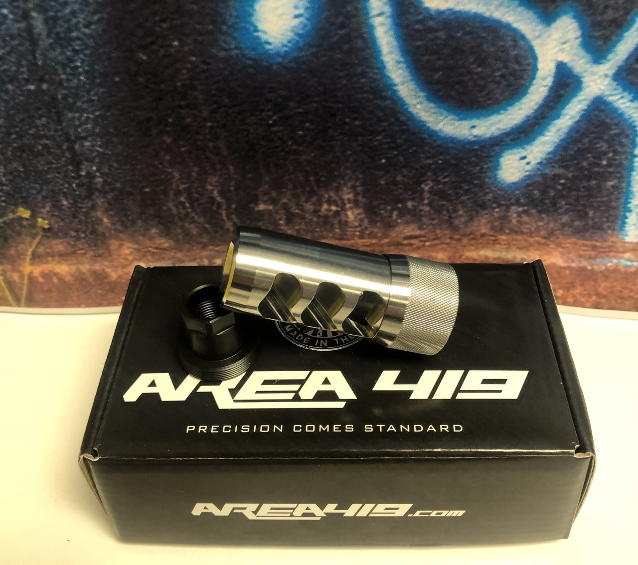 Area 419 Hellfire Self Timing Brake System (Raw Stainless)
