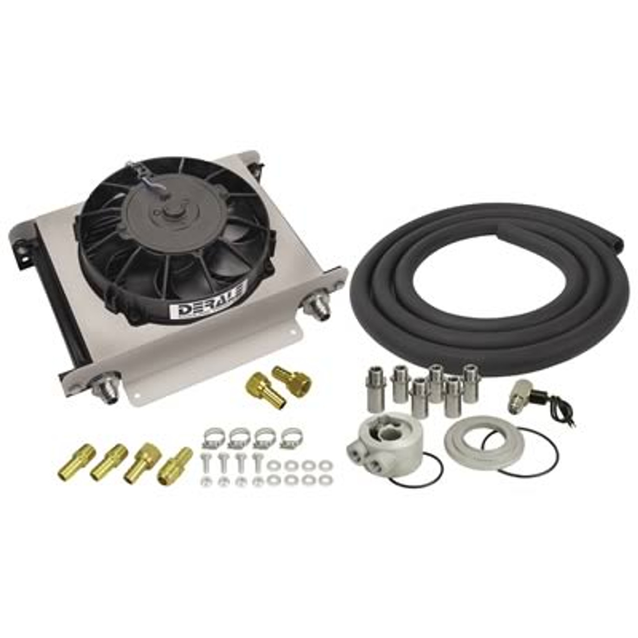 Derale Cooling Products Hyper-Cool Remote Fluid Coolers with Fan Kits 15660