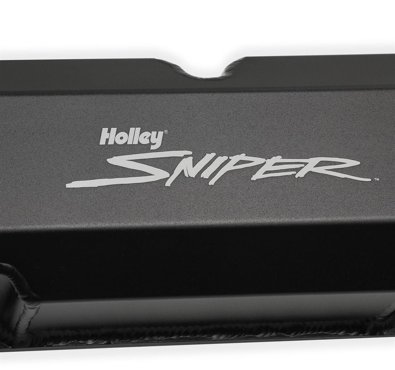 Holley Sniper Fabricated Aluminum Valve Covers 890001B