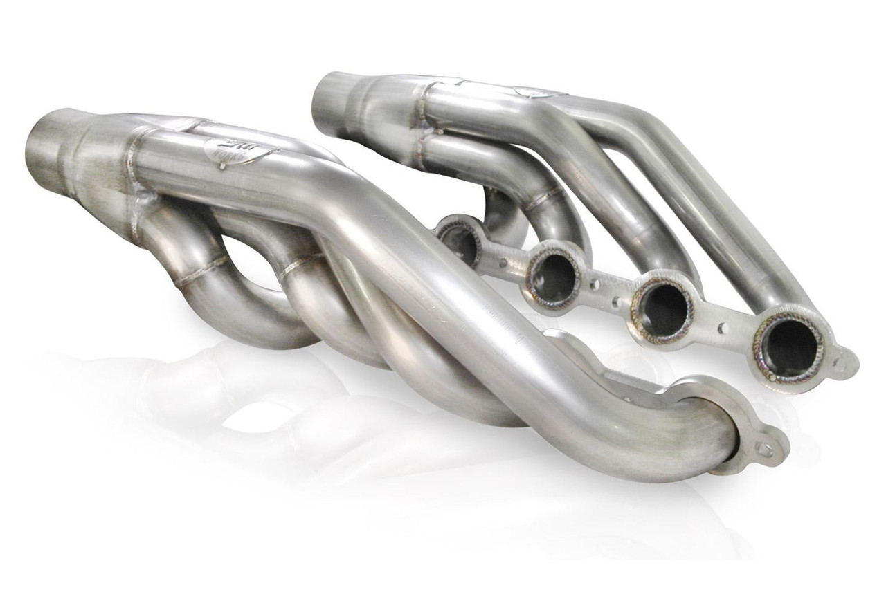 Headers, Upswept LS Turbo Swap, 1-7/8 in Primary, 3 in Collectors, Stainless, Natural, GM LS-Series, Kit