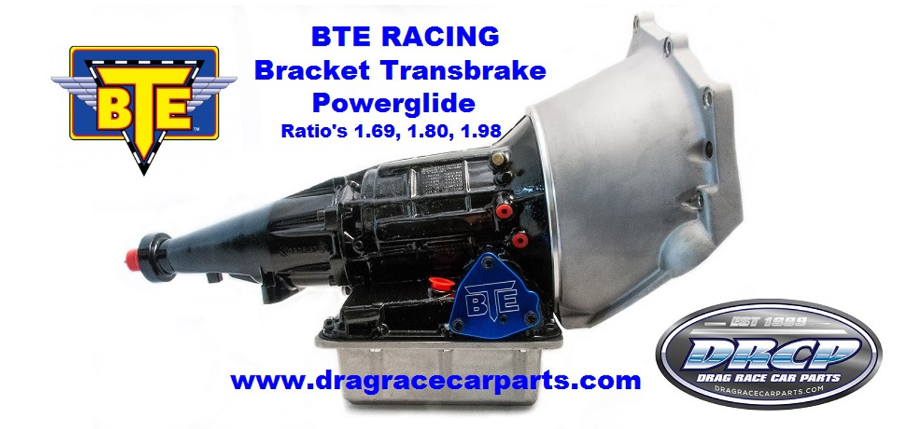 BTE Racing Bracket Transbrake Powerglide Transmission 1.69, 1.80, 1.98 with Ultra Bell Housing BTE031433
