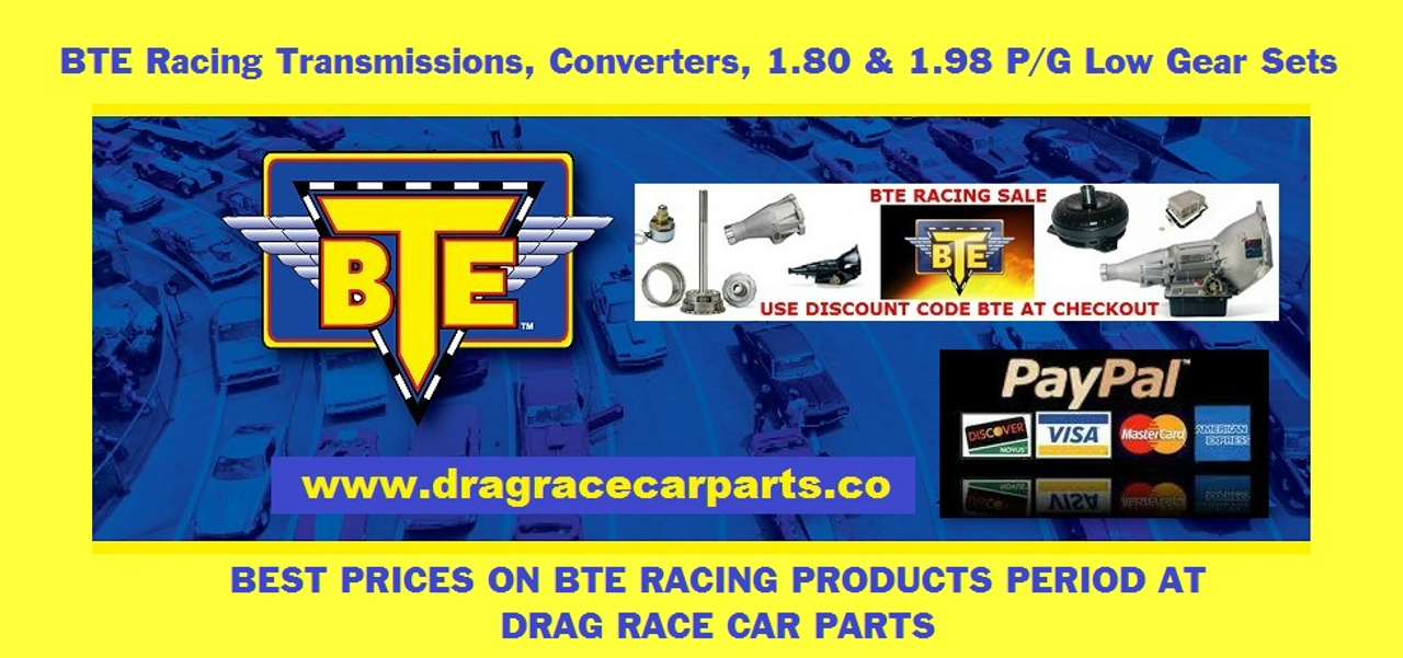 BTE 1.98 Straight Cut Powerglide Planetary Gear Set BTE247480 at Drag Race Car Parts with FREE SHIPPING and $200 INSTANT REBATE SAVINGS