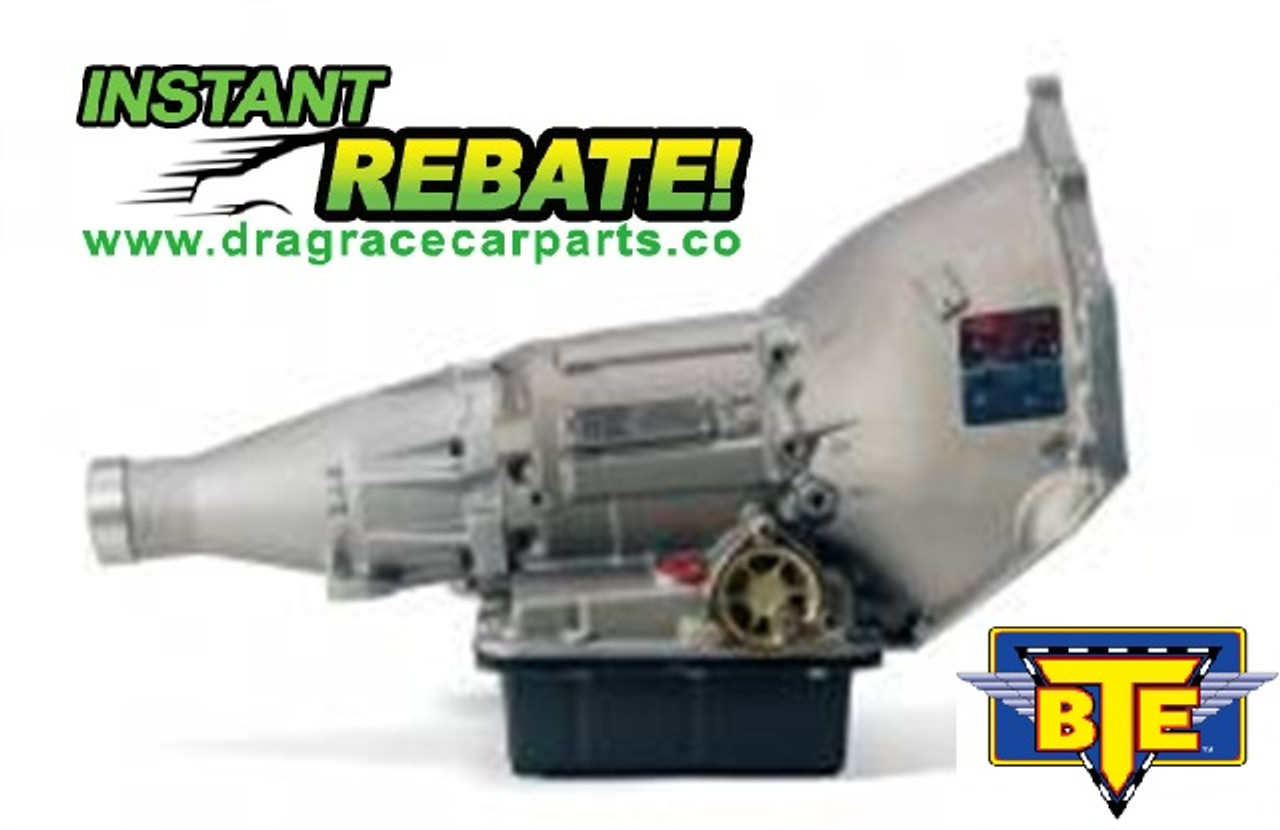 BTE Racing Top Sportsman 1.80 P/G Drag Race Powerglide Transmission BTE074473 with INSTANT REBATE SAVINGS