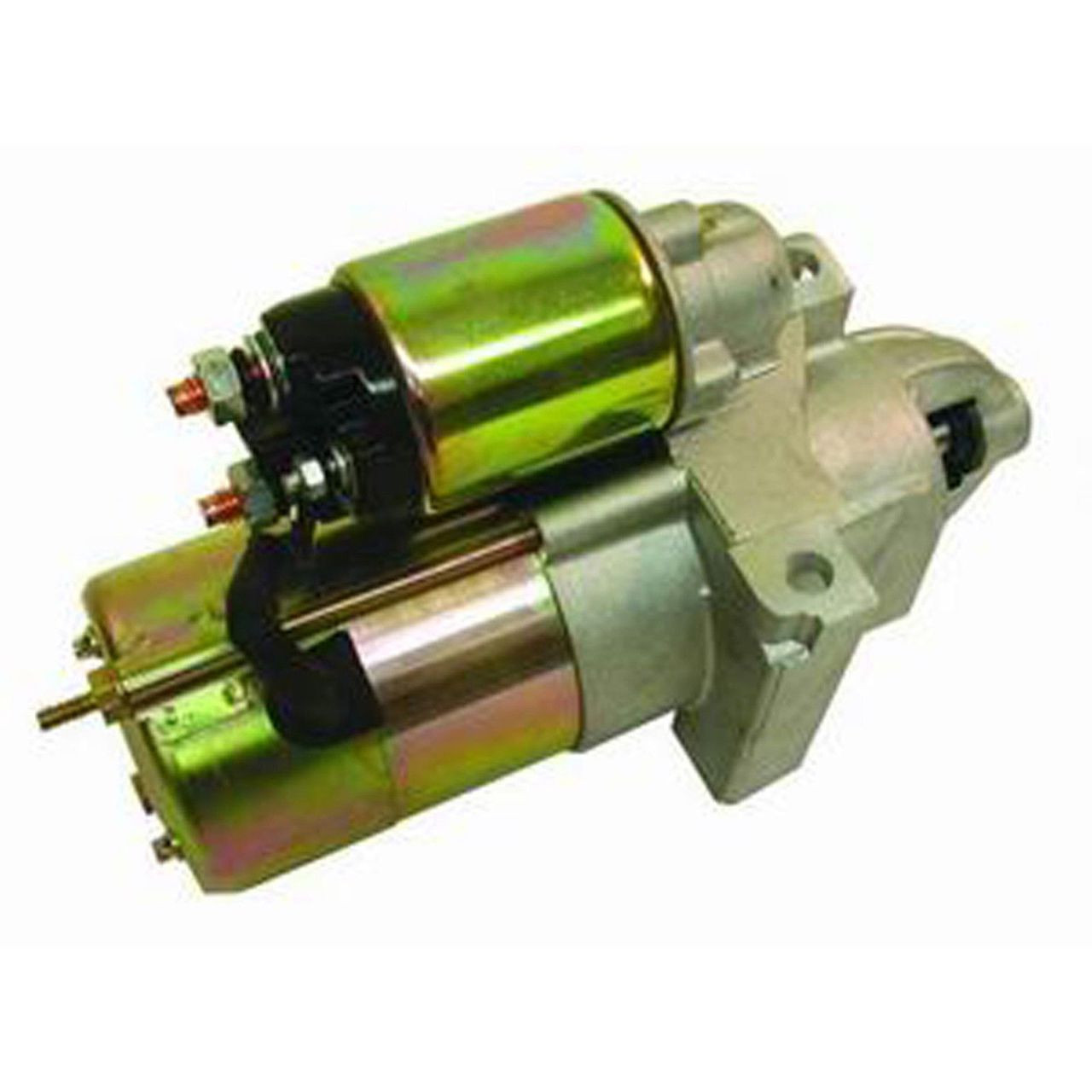 2.4 HP SB BB Chevy Satin Delco Staggered Bolt Pattern Gear Reduction Starter