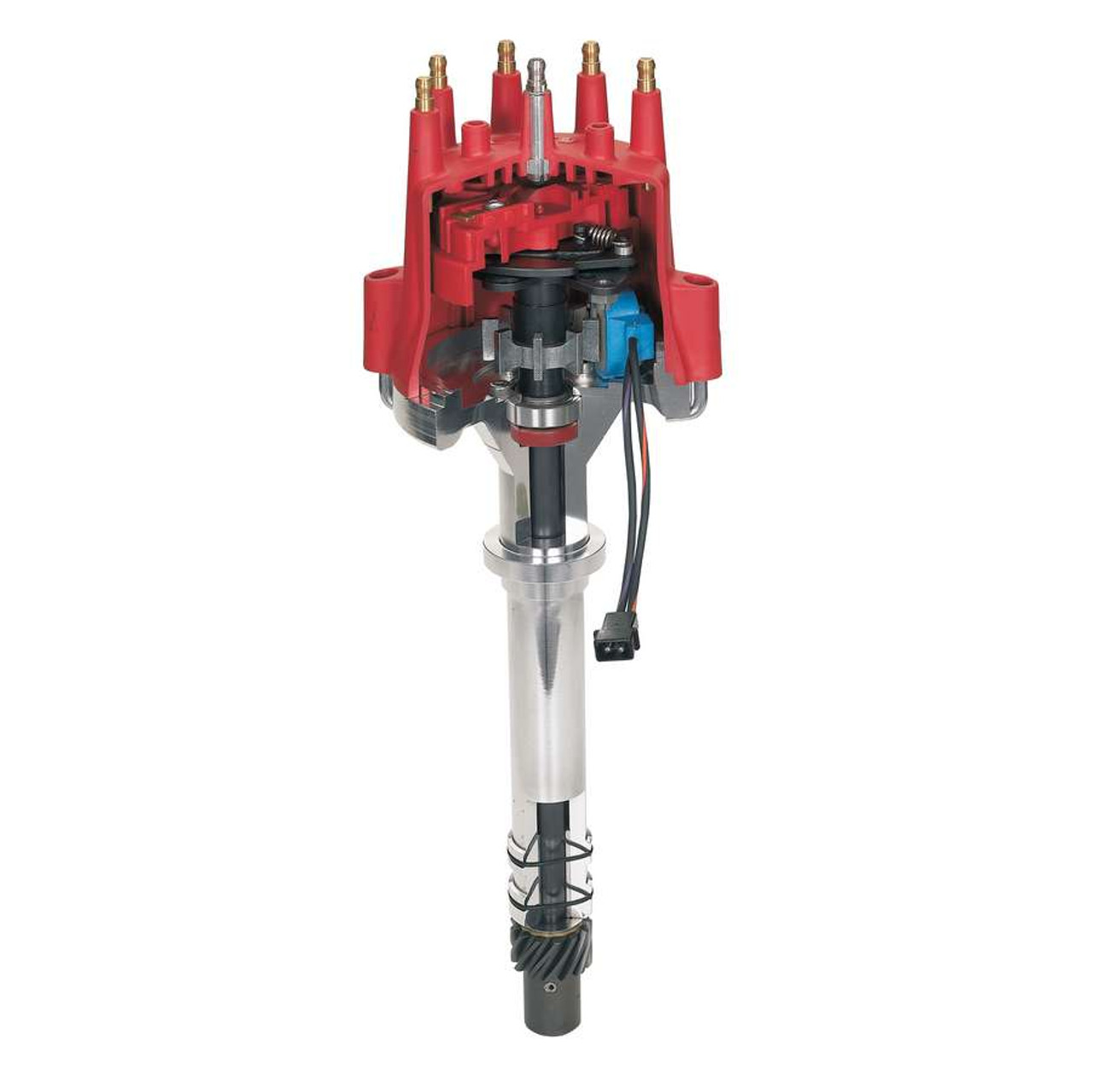 MSD Ignition Pro-Billet Distributor SBC BBC Chevy 85551 FREE SHIPPING Distributors, Pro-Billet, Magnetic Trigger, Mechanical Advance, Chevy, Big Block, Small Block, Requires the use of a separate ignition box such as an MSD 6, 7, 8, or 10 Series ignition, Each