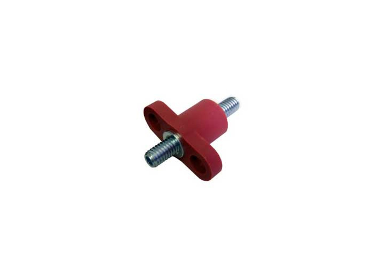 Big End Performance Double Stud Junction Block 3/8 Red BEP50072