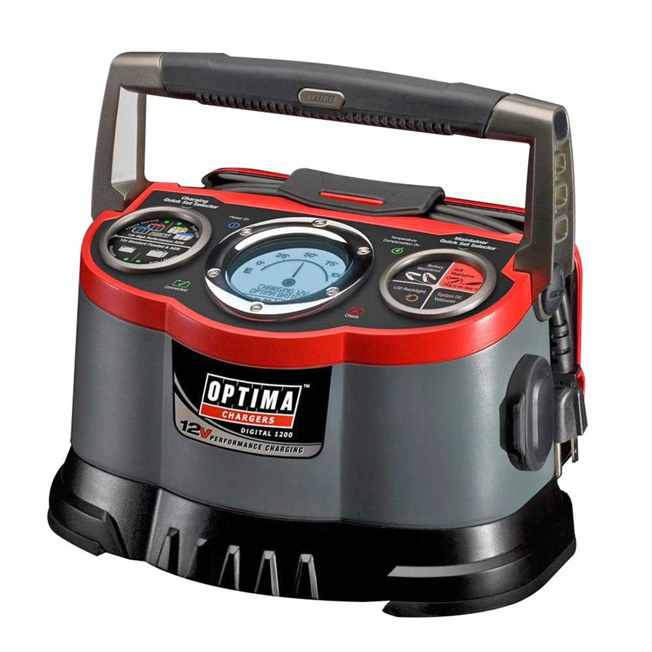 Optima Batteries Digital 1200 12 Volt Battery Charger 150-34178 150-33508 FREE SHIPPING