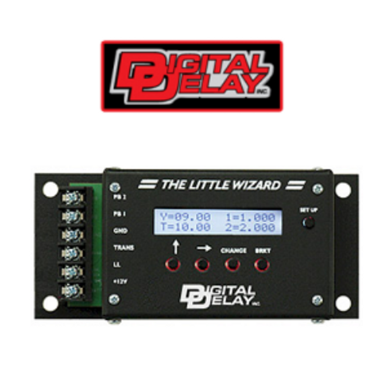 The Little Wizard Delay Box made by Digital Delay TLW 1058-B with FREE SHIPPING and INSTANT REBATE SAVINGS
