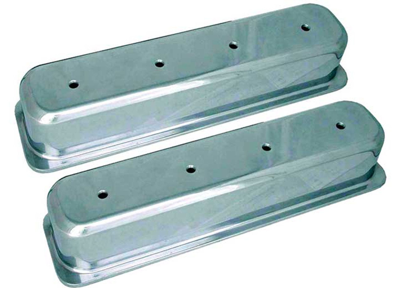 """SBC Small Block Chevy Centerbolt 1986-95, 3 11/16"""" Tall Valve Covers BEP70032"""