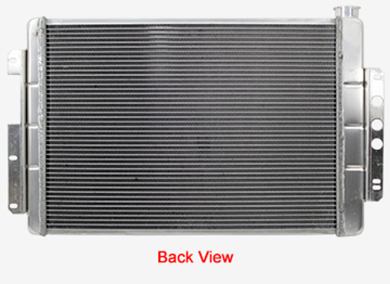 Northern Aluminum Radiator 68-79 NOVA 67-69 CAMARO BIG BLOCK AUTO TRANS 205133 (Back View)