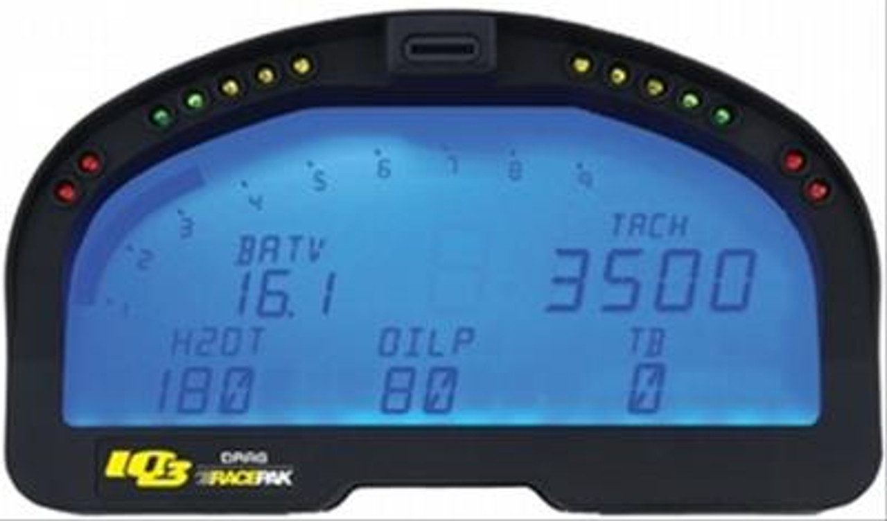 Racepak Data Systems IQ3D Drag Racing Digital Dash Recorders 250-DS-IQ3D