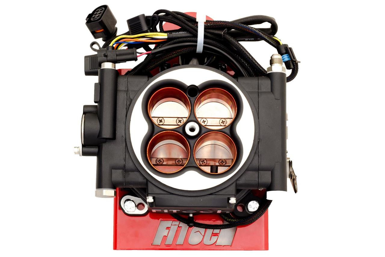FiTech Fuel Injection Go EFI 4 Power Adder 600 HP Self-Tuning Systems 30004