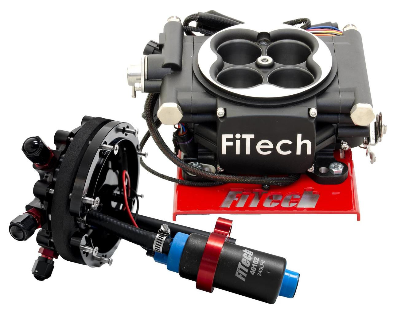 FiTech Fuel Injection Go EFI 4 600 HP Self-Tuning Systems with Hyperfuel  In-Tank Modules 34002 FREE SHIPPING