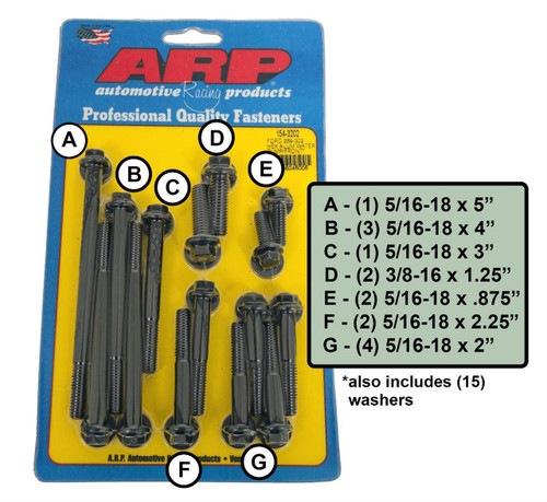 ARP Timing Cover Bolt Kits 154-3202