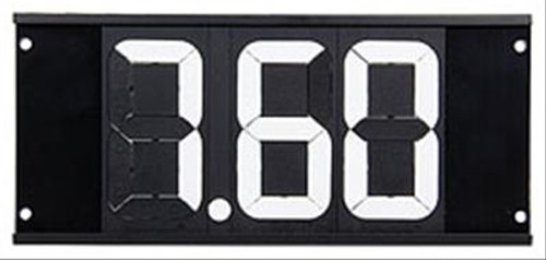 Allstar Performance Dial-In Board 3 Digit with Mounting Holes ALL23291