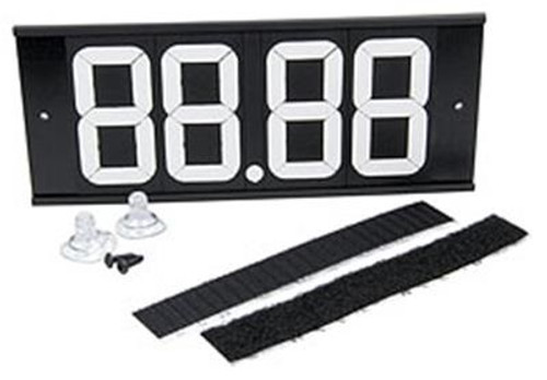 Allstar Performance Dial-In Board 4 Digit with Suction Cups and Velcro ALL23293