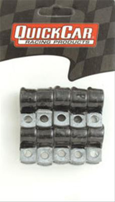 QuickCar Rubber Coated Line Clamps 66-858