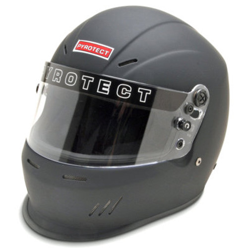 Pyrotect Ultra-Sport Duckbill SA2015 Full Face Helmet Small Flat Black 8301005