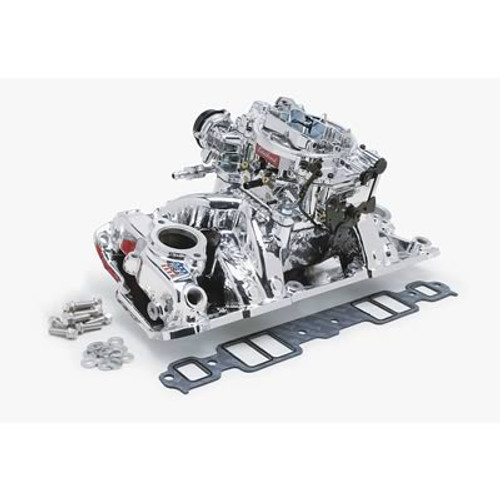Edelbrock Performer Intake Manifold and Carburetor Kits 2061
