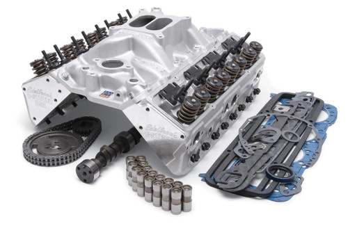 Edelbrock Total Power Package 338 HP Small Block Chevy Top-End Engine Kits 2038