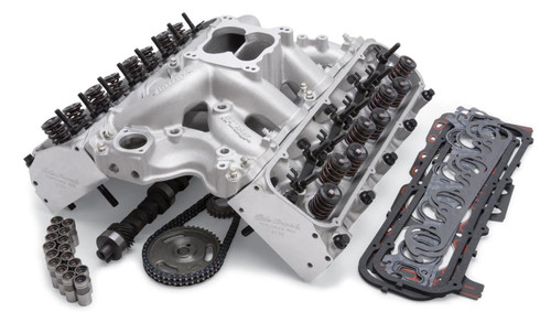 Edelbrock Total Power Package 506 HP Big Block Ford Top-End Engine Kits 2045
