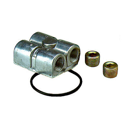 Perma-Cool Dual Port Spin-On Oil Filter Adapters 2791