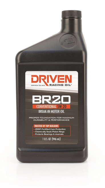 Driven Racing Oil Joe Gibbs BR Break-In Motor Oil 04346