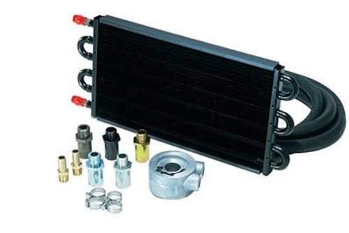 Derale Cooling Products 7000 Series Tube and Fin Engine Oil Cooler Kits 15502