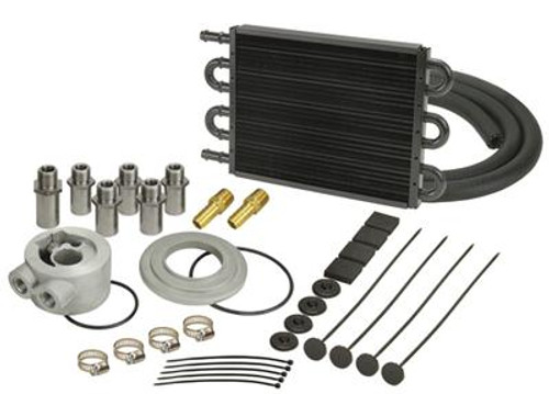 Derale Cooling Products 7000 Series Tube and Fin Engine Oil Cooler Kits 15501