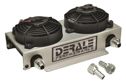 Derale Cooling Products Hyper-Cool Remote Fluid Coolers with Fan Kits 15845
