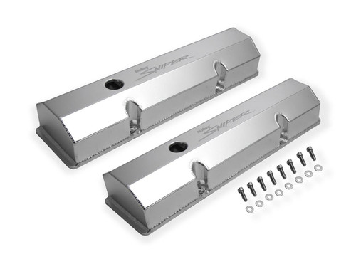 Holley Sniper Fabricated Aluminum Valve Covers 890010