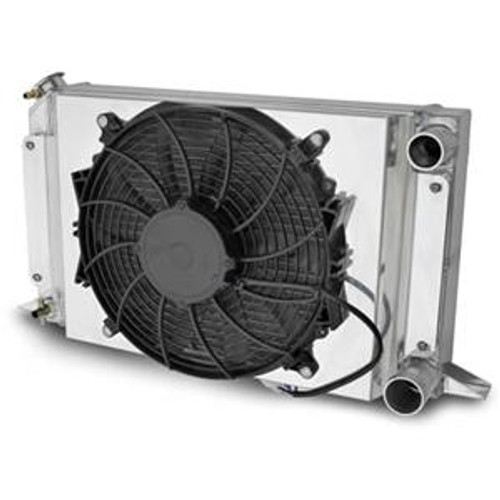Acing Electric Cooling Fan and Aluminum Shroud Kit 80104NFAN (FAN AND SHROUD KIT ONLY - RADIATOR NOT INCLUDED - PIC IS FOR INSTALLATION REFERENCE ONLY)