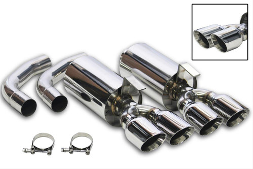 Flowtech Axle-Back Exhaust Systems 11541FLT