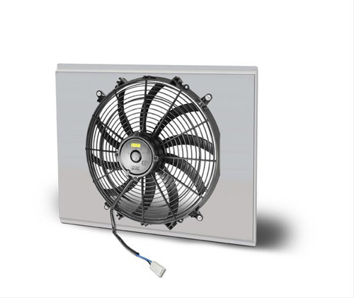 AFCO Racing Electric Fan and Aluminum Shroud Kits 84253-F-SS-N