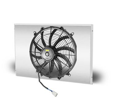 AFCO Racing Electric Fan and Aluminum Shroud Kits 81171-F-SP-N