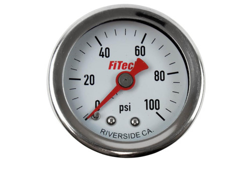 FiTech Fuel Injection Analog Fuel Pressure Gauges 80117