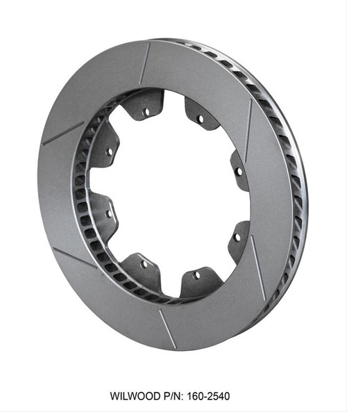 Wilwood Disc Brakes GT Series Curved Vane Rotors 160-2540
