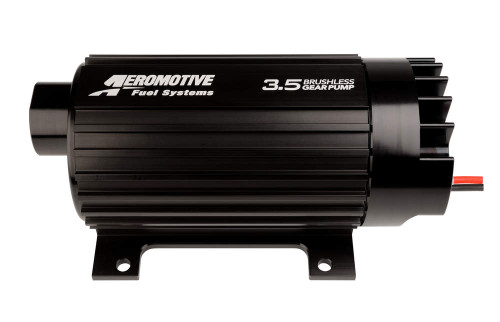Aeromotive Pro Series 3.5 Brushless In Line Electric Fuel Pump 11185 FREE SHIPPING 1350 lb/hr at 9 psi, 12 AN O-Ring Female Inlet, 10 AN O-Ring Female Outlet, Black, Gas / E85 / Diesel, Each