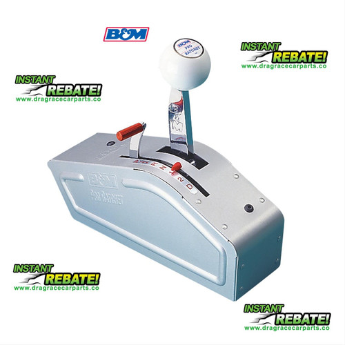 B&M Pro Ratchet Shifter Chevy TH350 Chrysler 727 904 Ford C4 C6 80842 with FREE SHIPPING and an INSTANT REBATE