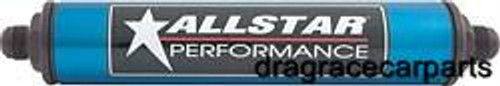 Allstar Performance Inline Aluminum Fuel Filter -8 AN 12 In. ALL40218