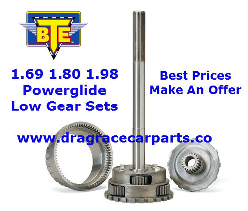 BTE Racing 1.69 Straight Cut Powerglide Transmission Low Gear Planetary Gear Set BTE247430 with FREE SHIPPING and INSTANT REBATE SAVINGS
