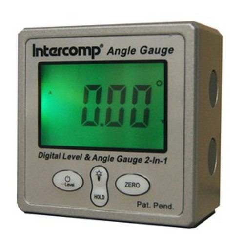 Intercomp Racing Digital Level and Angle Finder Gauge 102144