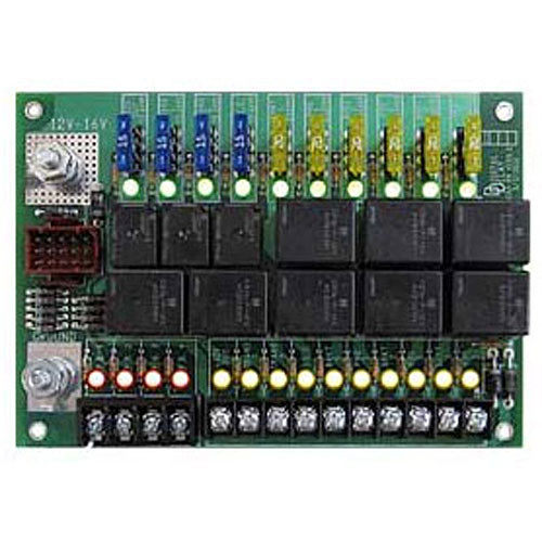Digital Delay Elite 700 Delay Box Black with White Backlight 1032-BW DDI-1032-BW ELITE700-BW CONTROL BOARD