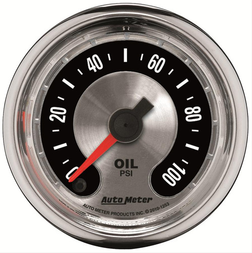 AutoMeter Auto Meter American Muscle Analog Gauges 1253