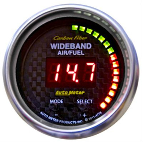 AutoMeter Auto Meter Carbon Fiber Ultra-Lite Digital Gauges 4778
