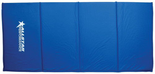 Allstar Performance Blue Vinyl Pit Mat Track Mats 54 x 24 In. ALL10128
